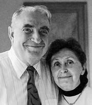 Rebecca and Victor Ionasescu